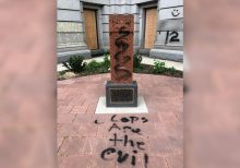 Vandals target historic monuments amid George Floyd protests