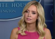 White House claps back after AOC claims Kayleigh McEnany dissed her