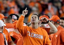 Clemson's Dabo Swinney defends racial slur incident, explains 'Football Matters' shirt