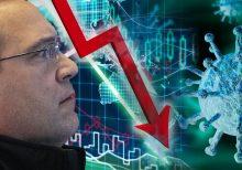 Dow tumbles 1,700 points as economic swoon, coronavirus spike leave investors fretting