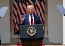 Trump signs police reform executive order in Rose Garden ceremony