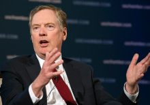 Lighthizer denies Bolton claim that Trump asked China's Xi for 2020 help: 'Never happened. I was there'
