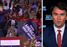 Charlie Kirk says Trump's Tulsa rally shows he's back: 'Good luck,' Joe Biden