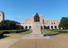 Rice University student group demands 'Black House,' better ID photos, statue removal