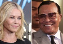 Chelsea Handler defends Louis Farrakhan post, then apologizes: 'I was wrong'