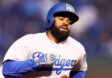 Dodgers' Andrew Toles arrested for trespassing at Florida airport: report