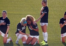 NWSL's Rachel Hill explains decision to stand for anthem as teammates knelt, cites military family
