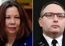 Duckworth vows to block over 1,000 military confirmations until Pentagon proves Vindman will be promoted