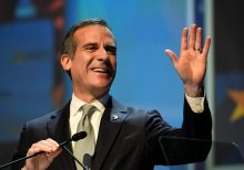 LA Mayor Garcetti admits connection between coronavirus outbreak and protests, after downplaying link