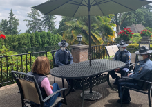Oregon governor meets with state troopers caught flouting mask mandate in coffee shop