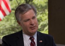 FBI Director Wray says half of bureau's 5,000 counterintelligence cases are related to China