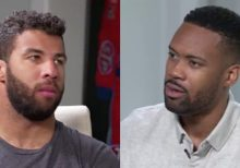 NASCAR's Bubba Wallace opens up to Fox Nation's Lawrence Jones about 'Black Lives Matter' and his critics