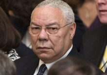 Colin Powell suggests media had 'hysterical' reaction to reports on Russian bounty intelligence