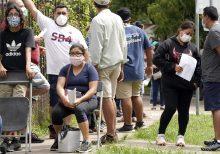 Texas passes 100 coronavirus deaths in a single day