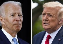 Trump lashes out at Biden in Rose Garden: 'There's never been a time when two candidates were so different'