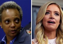 Chicago's Lightfoot calls White House's McEnany a 'Karen' after reported 'derelict mayor' slight