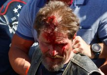 Anti-cop 'mob' swarms Back the Blue event in Denver, bloodying several before shutting things down: reports