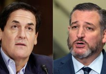 Ted Cruz challenges Mark Cuban to speak about China in heated Twitter spat over anthem kneeling