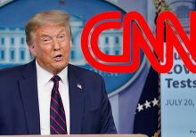CNN skips Trump's prepared remarks at revived coronavirus briefing