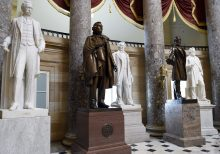 House votes to remove statues from Capitol that honor Confederate leaders, racists