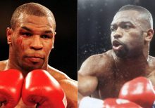 Mike Tyson returns to boxing in exhibition match against Roy Jones Jr.