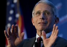 Dr. Fauci's Opening Day first pitch veers way off target