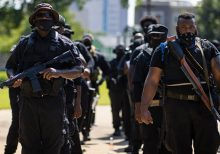 Louisville protests descend into chaos when armed protester accidentally shoots members of his group, injur...