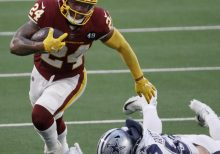 Antonio Gibson's Updated Washington Fantasy Outlook After 3 TDs vs. Cowboys