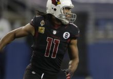 Report: Larry Fitzgerald Placed on COVID-19 List Ahead of Cardinals vs. Patriots
