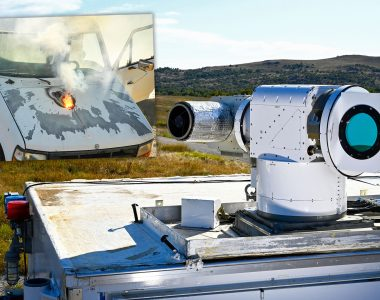 How Once Elusive Dream Of Laser Weapons Suddenly Became Reality...