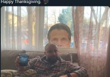 NYC Councilman Defies COVID Rules With 11-Person Thanksgiving as Cuomo Cutout Watches