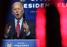 Biden Sets Top Pandemic Goals of Masking, Schooling and Vaccination in Introducing Health Team