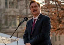 Mike Lindell at Rally: Fox News 'Had to Be in on It'
