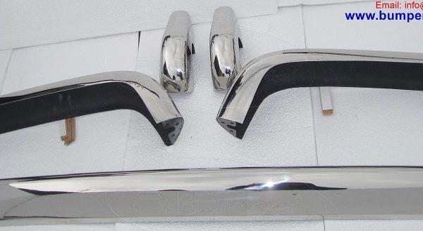 Rolls-Royce-Silver-Shadow-bumper-in-stainless-steel