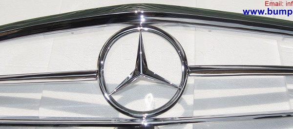 Mercedes-W113-Front-Grille