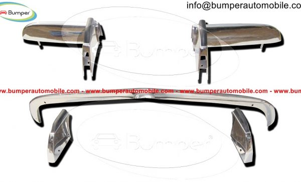 Opel-GT-bumper-full-set-in-stainless-steel