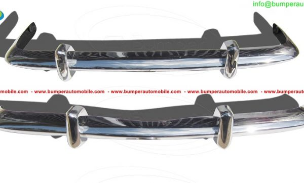 VW-Karmann-Ghia-Euro-style-bumpers-in-stainless-steel