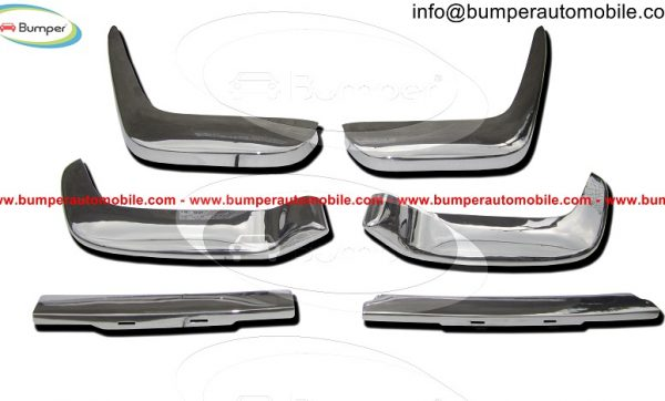 Volvo-P1800-Jensen-Cow-Horn-bumper-in-stainless-steel