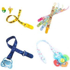 1Pc Newborn baby pacifier clips chain strap soother dummy nipple holder
